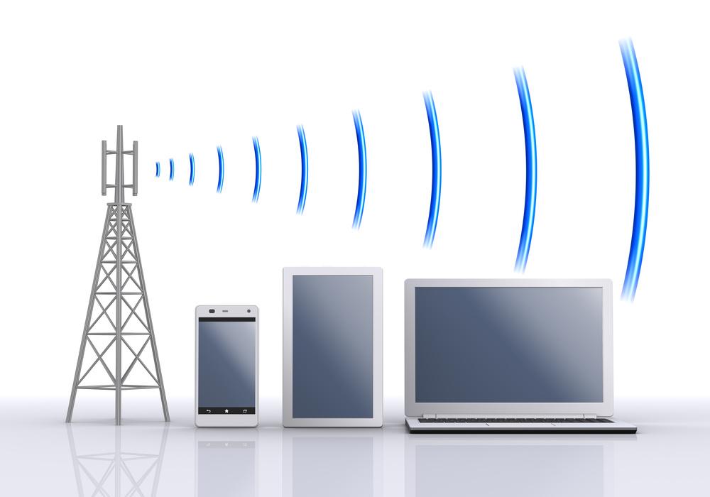 Radio waves and information equipment